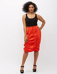 6th & Lane Drawstring Skirt