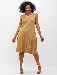 6th & Lane Faux Suede Dress