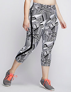 Signature Stretch Capri Legging with Side Insets