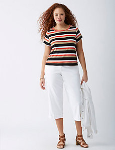 Lena Lined Linen Crop