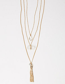 3-in-1 Clear Elements Necklace