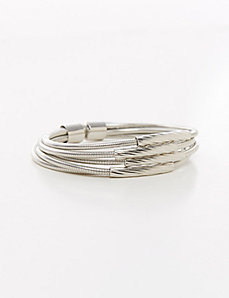 5-Row Snake Chain Bracelet