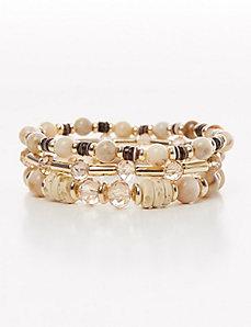 3-Row Stretch Bracelet