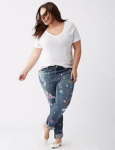 Splatter Skinny Jean by Melissa McCarthy Seven7