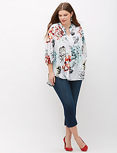 Floral Top by Melissa McCarthy Seven7