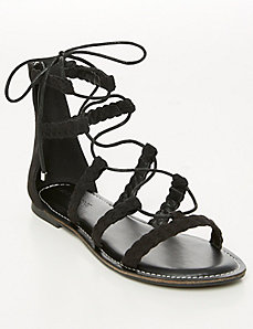 Braided Gladiator Sandal