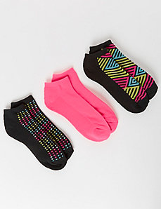 Pop Art Sport Socks 3-Pack
