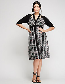 Bombshell Banded Dress by Kiyonna