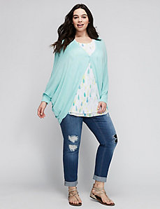 Button Shrug by Melissa McCarthy Seven7