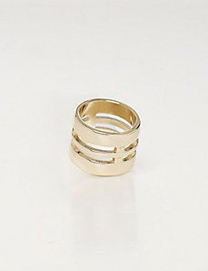 Stacked Illusion Ring