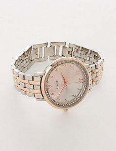 Rose Gold & Silvertone Watch