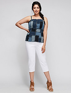 6TH & LANE Denim Bustier