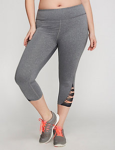 Crisscross Active Capri Legging by Jessica Simpson