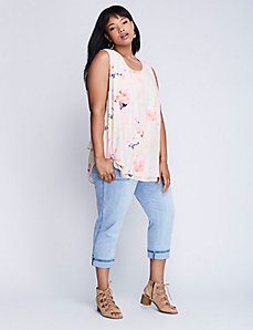 Denim Girlfriend Capri by Melissa McCarthy Seven7