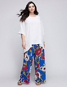 Printed Pants by Melissa McCarthy Seven7