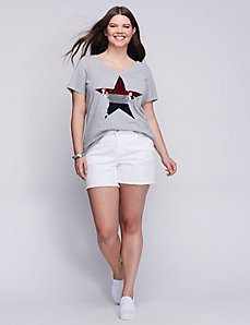 Sequin Star Graphic Tee