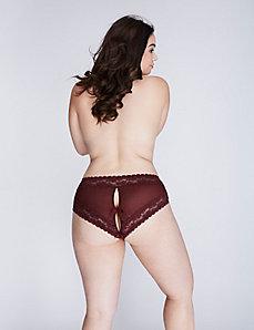 Keyhole & Lace Cheeky Panty