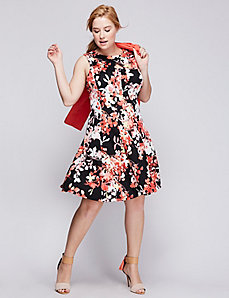 Floral Scuba Dress by Gabby Skye