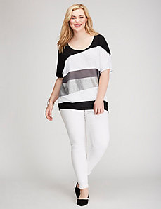 Spliced Wedge Tee
