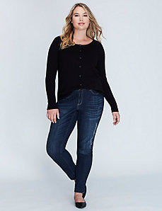 Crosshatch Boyfriend Jean