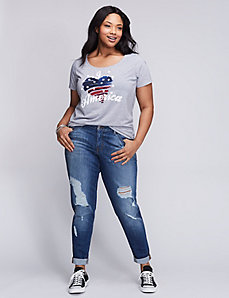 I Heart America Graphic Tee