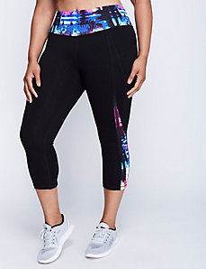 Signature Stretch Capri Legging with Pockets