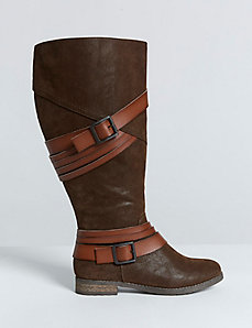 Multi-Strap Riding Boot