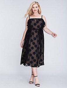 Circle Ruffle Dress