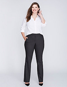 Lena Sexy Stretch Stripe Boot Pant