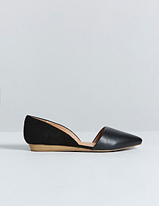 D'Orsay Mini Wedge Flat