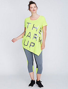 Asymmetric Active Tee by Jessica Simpson