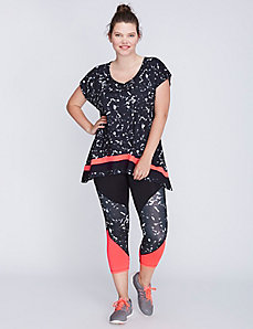 Shark-Bite Active Tee by Jessica Simpson