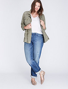Military Button Jacket