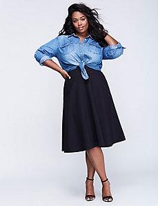 Ponte Circle Skirt