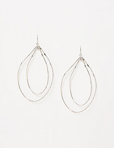 Twisted Double Drop Earrings