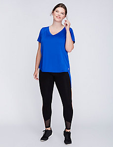 Wicking Active Tee with Mesh