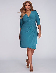 Ciara Cinch Dress by Kiyonna