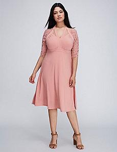 Luring Lace Dress by Kiyonna