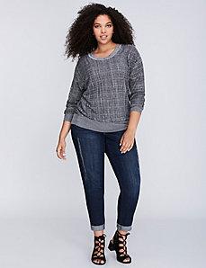 Marled Dolman Sweater