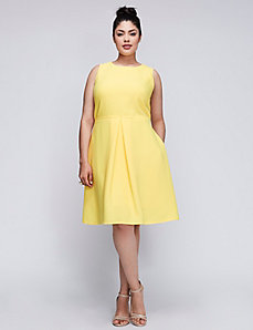 Fit & Flare Dress by Julia Jordan