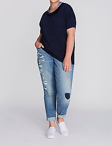 Drapey T-Shirt Hoodie