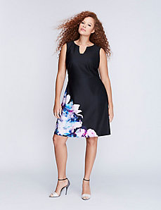 Floral Fit & Flare Dress by Julia Jordan