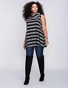 Cowl-Neck Tunic Tank