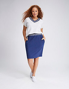 Varsity Stripe Skirt