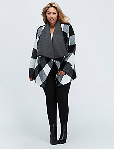 Cozy Cascading Blanket Coat