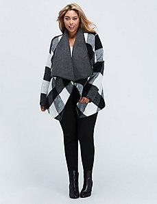 Cozy Cascading Blanket Coat