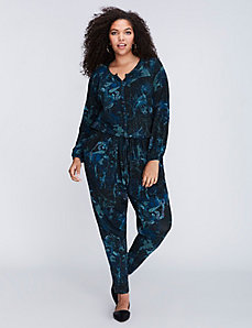 Printed Jumpsuit by Melissa McCarthy Seven7