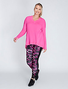 Pullover Active Tunic with Hood