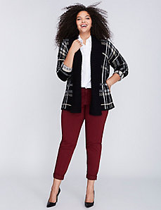 Plaid Overpiece Sweater