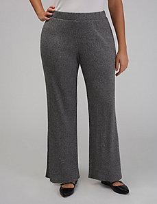 Wide-Leg Knit Pant